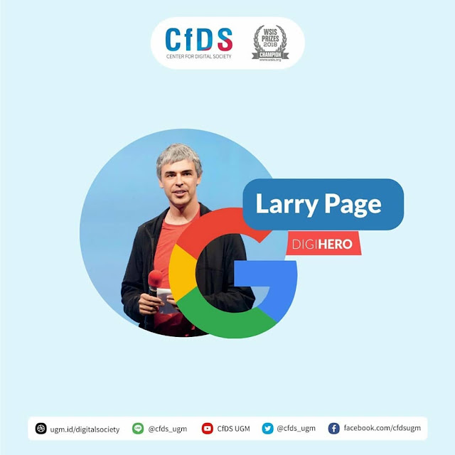 Biografi Larry Page Sang Pendiri Google