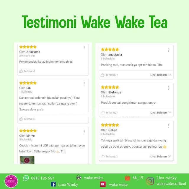 Wake Wake Tea Booster ASI