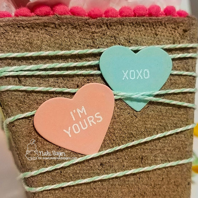 Newton's Nook Designs Candy Heart Set - Naki Rager