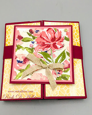 Fine Art Gallery Showstopper Card click here to learn more about this fun fold card and to watch the video tutorial.