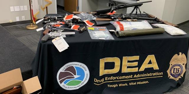Duro golpe a El Cártel de Sinaloa DEA capturan en San Diego, California a 44 integrantes