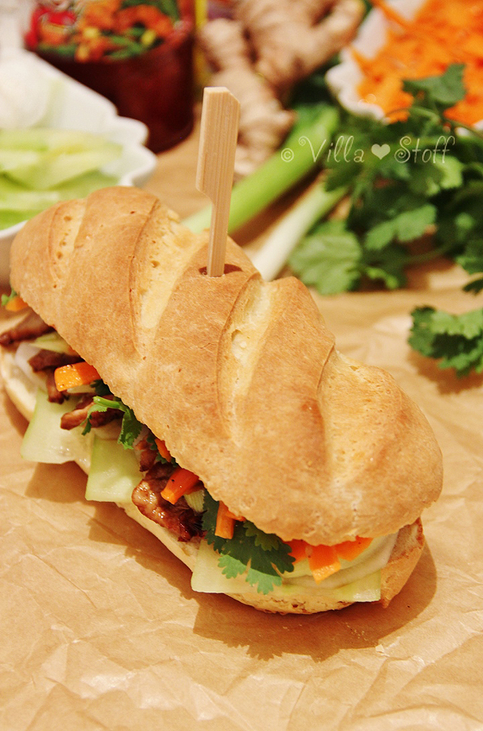Rezept für Banh mi Sandwich | Homemade Vietnamese Food