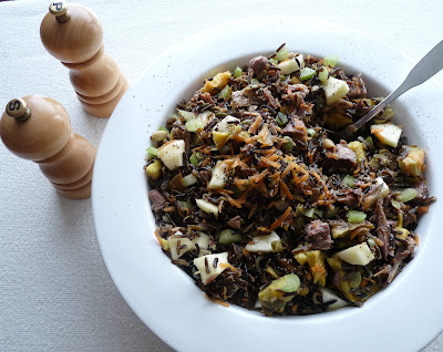 Duck & Wild Rice Salad