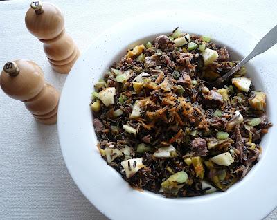 Duck & Wild Rice Salad