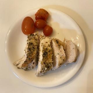 鶏胸肉,オレガノ,オーブン