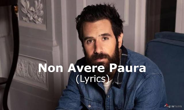 Tommaso Paradiso, Non Avere Paura Lyrics, testo canzone