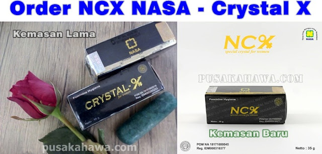Order NCX NASA beli Crystal X jual herbal keputihan