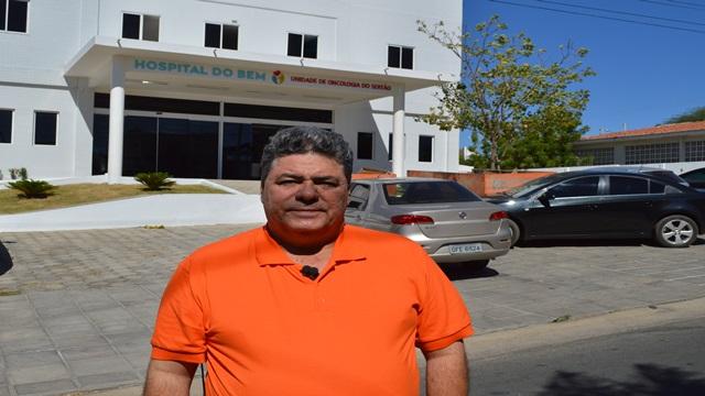 ex-deputado Antonio Mineral lamenta morte do ex prefeito de Patos Dinaldo Wanderley