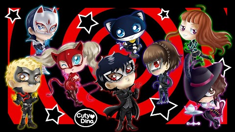 Phantom Thieves Chibi FanArt