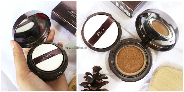 Review Pixy Make it Glow Dewy Cushion 301 Medium Beige