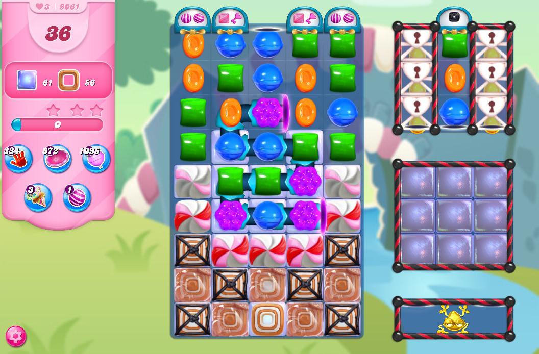 Candy Crush Saga level 9061