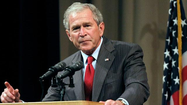 George W Bush Serukan Keadilan untuk George Floyd