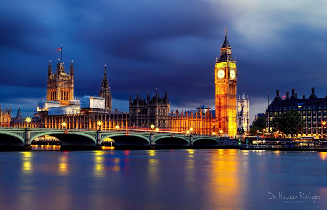 Photo: The Houses of Parliament and Big Ben