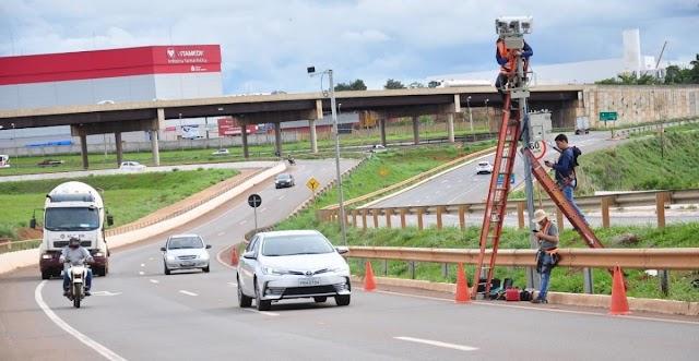 Anápolis: Companhia de Trânsito inicia avaliação técnica para fiscalização eletrônica