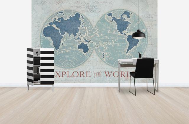 Maailmankartalle Tapetti Explore the World