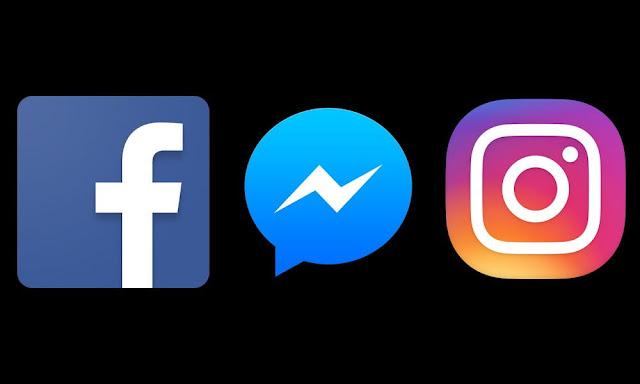 Facebook, Instagram and Messenger