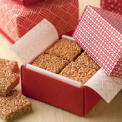 Crunchy Sesame Candy
