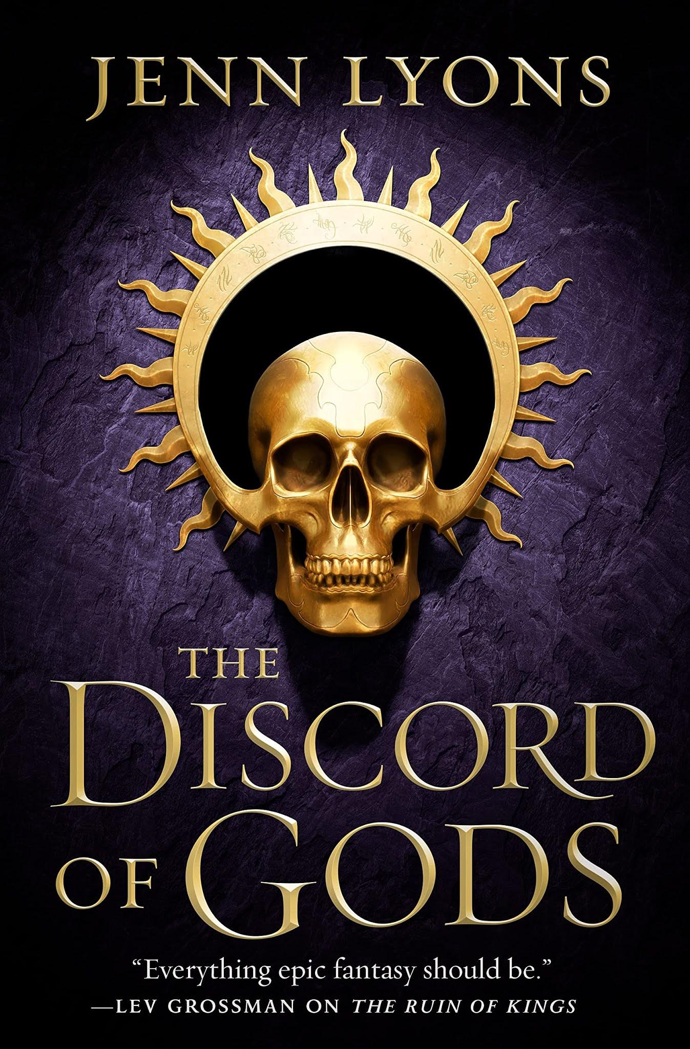 The Discord of Gods by Jenn Lyons