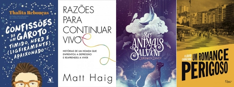 Maio: lançamentos literários para este mês