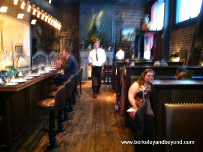 Wayfare Tavern interior in San Francisco