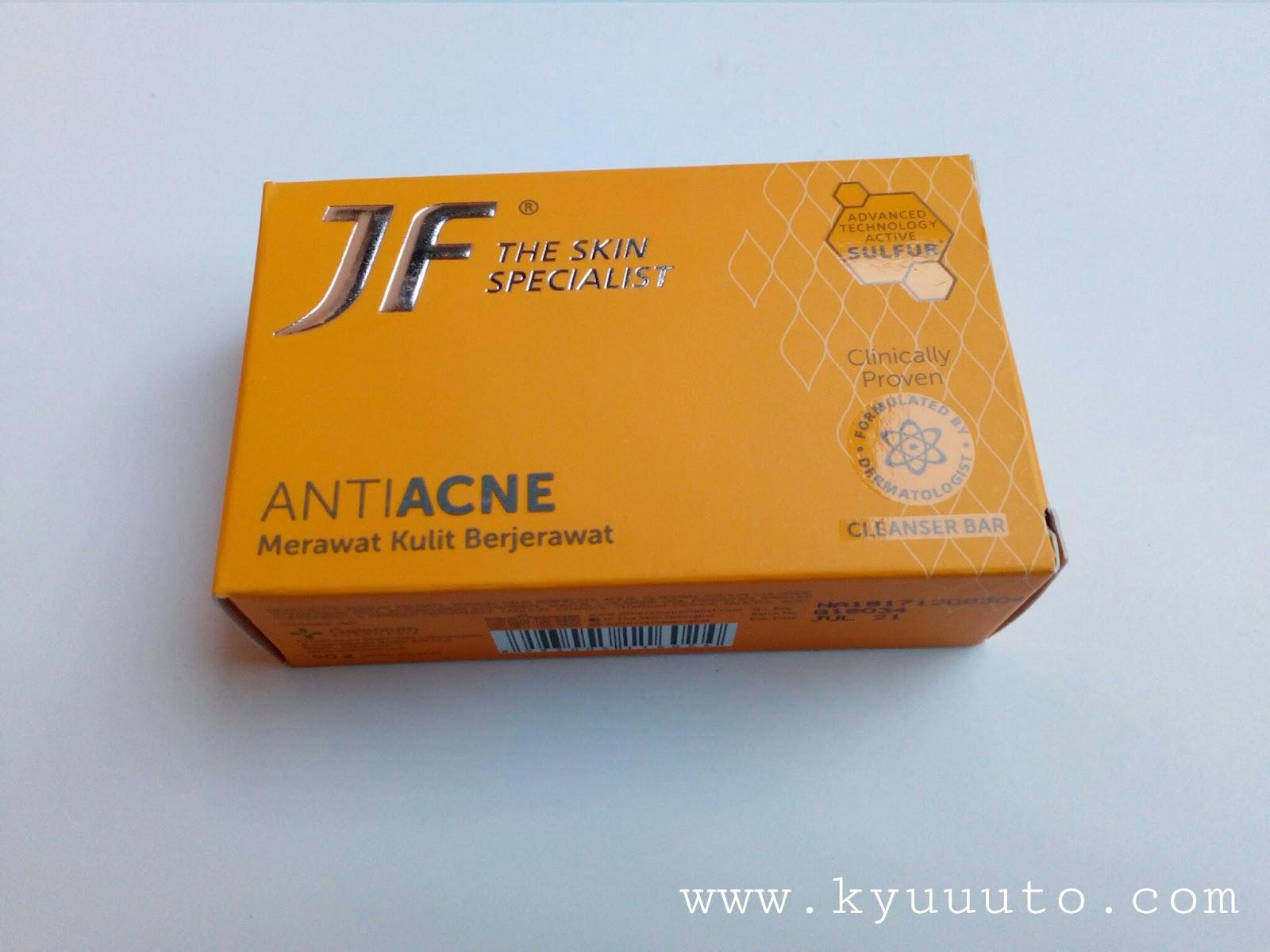 Manfaat Sabun Jf Sulfur Warna Orange