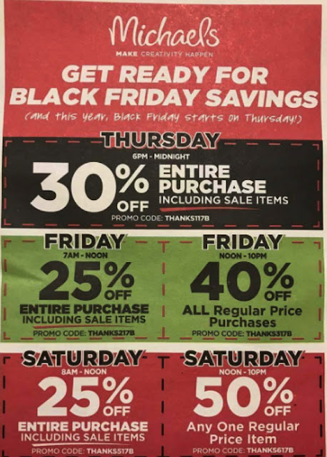 Michaels Black Friday 2017 Ad