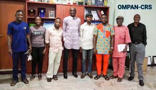 BREAKING: Cross River Speaker embraces OMPAN, seeks for effective collaboration