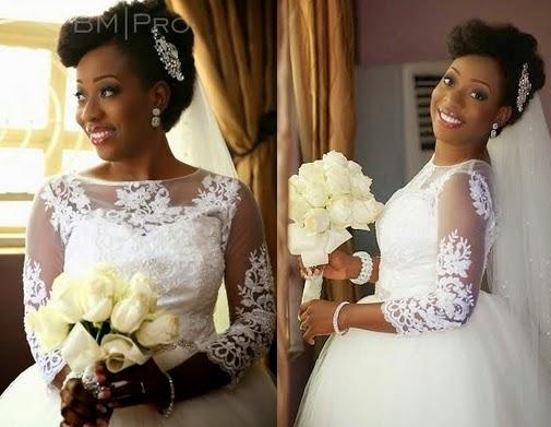 sisi yemmie white wedding pictures