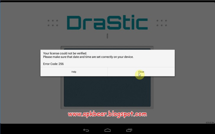 drastic ds emulator apk patched no license