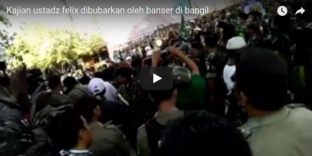[Video] Kembali Kajian Islam Oleh Ustad Felix Dibubarkan Paksa Oleh BANSER NU