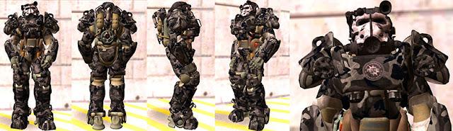 T60 Power armor skin mod for GTA SA