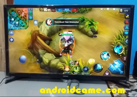 6 Langkah Bermain Mobile Legends Di TV Gratis