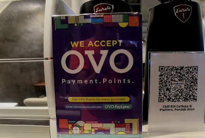 pembayaran pakai OVO di cafe murah