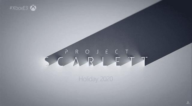 Microsoft anunció su nueva consola Project Scarlett, potencia y lanzamiento.