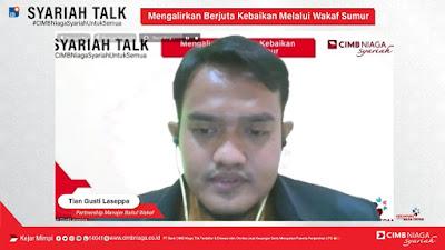 CIMB Niaga Syariah Gandeng Baitul Wakaf Wujudkan Wakaf Sumur