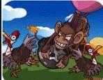 Chơi game khỉ đột thả bom