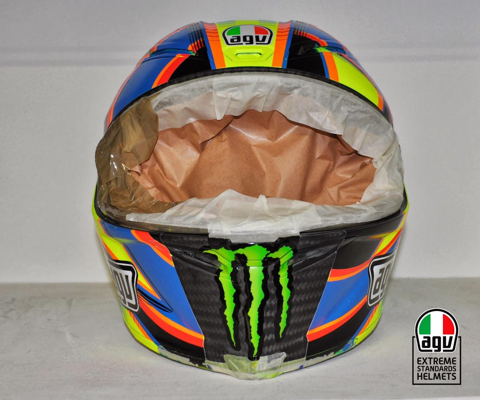 Champion Helmets Valentino Rossi Quot Second Eyes Quot Helmet