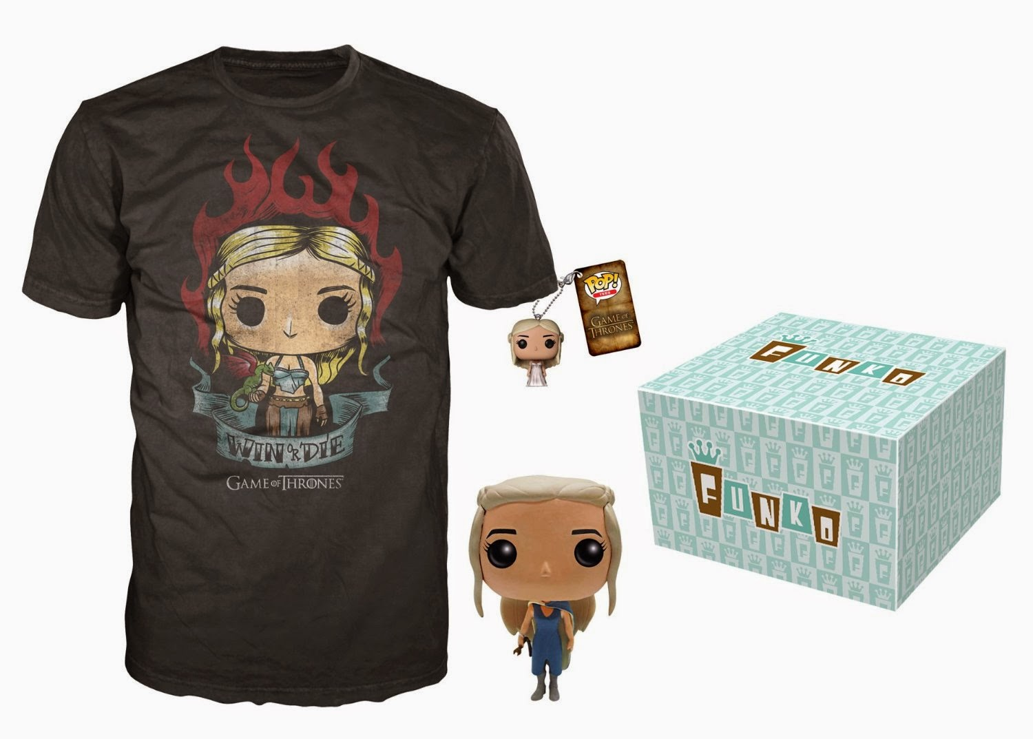 dd614a06 Amazon Exclusive Game of Thrones Pop! Vinyl Figure & T-Shirt Bundles by  Funko