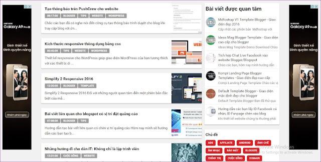 Code tạo banner quảng cáo chạy dọc 2 bên website