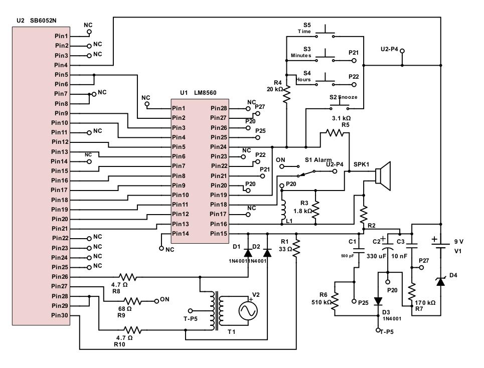 Electricademy: Reverse Engineering: Digital Alarm Clock - Part 2 on