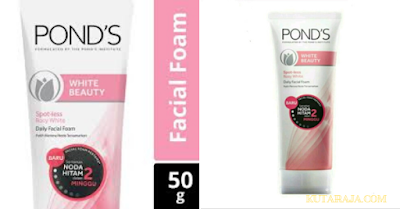 POND'S WHITE BEAUTY FACIAL FOAM -  Daily Facial Foam