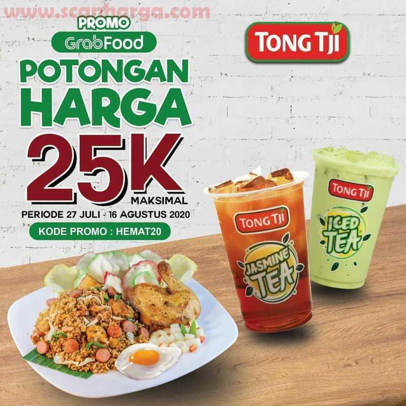 Promo Tong Tji Grabfood Potongan Harga 25 RB Periode 27 Juli - 16 Agustus 2020