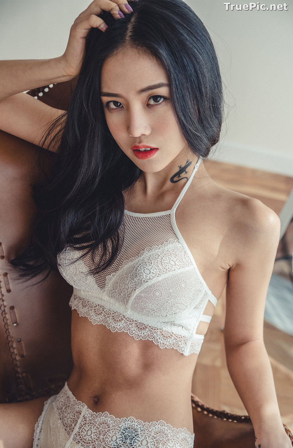 Image Korean Fashion Model – Baek Ye Jin – Sexy Lingerie Collection #6 - TruePic.net - Picture-7
