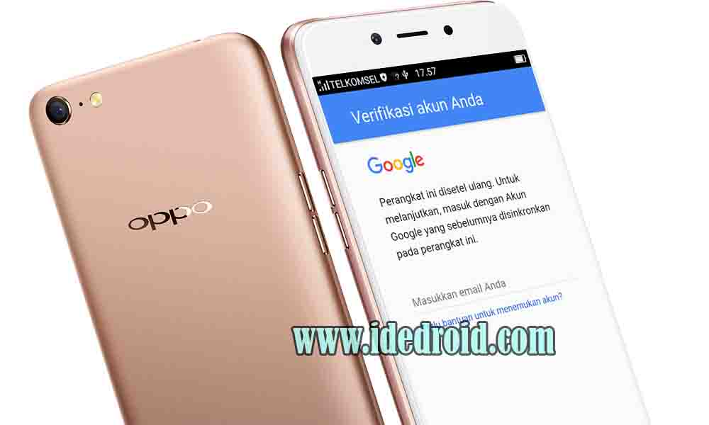 Cara Bypass Akun Google Frp Oppo A71 Cph1801 100 Work Ide Droid