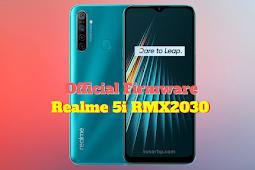 Firmware Realme 5i (RMX2030)