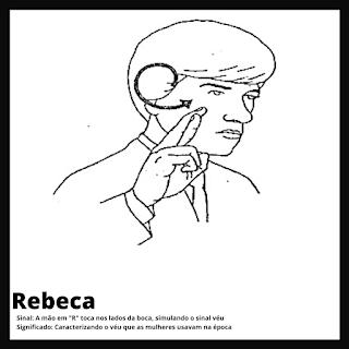 Sinal de Rebeca da bíblia