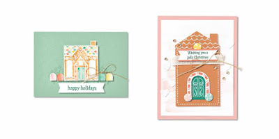 November 2020 Jolly Gingerbread Paper Pumpkin Alternative Projects #paperpumpkin