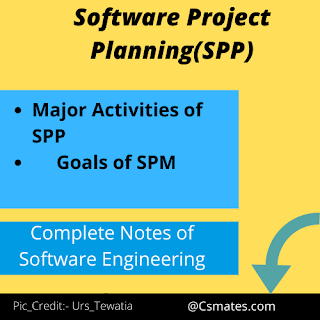 software project planning in software engineering