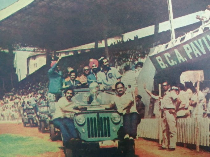 1975 : Grand Reception Given In Bombay to Hockey Team On Winning World Cup