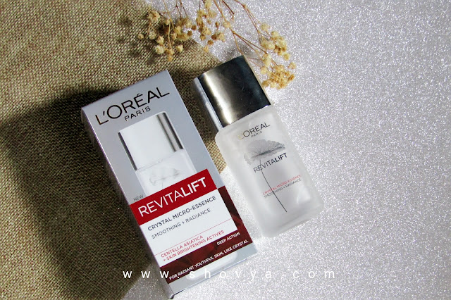 Review Loreal Paris Revitalift Crystal Micro-Essence (After 10 Days Usage)